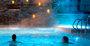 Led verlicht Fitland thermen